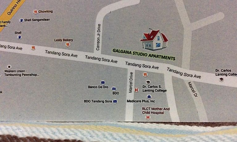 Galgana Studio Apartments Manila